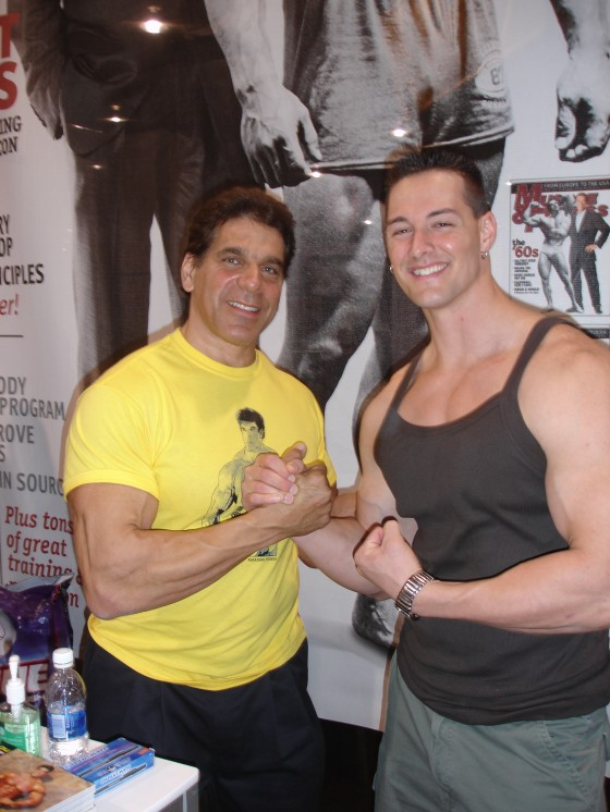 Lou Ferrigno (the original incredible Hulk)